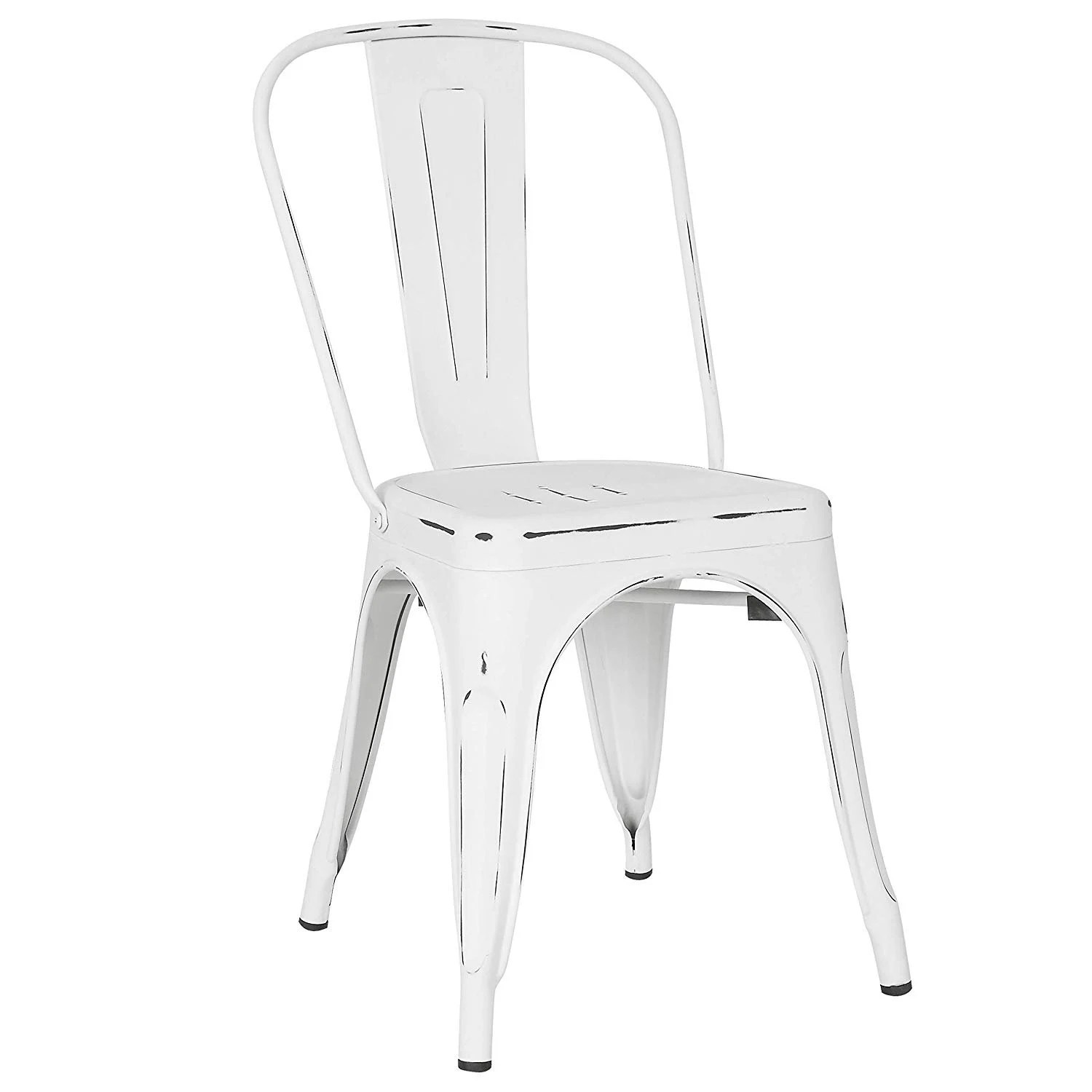 White Bistro Chairs White Metal Bistro Chair