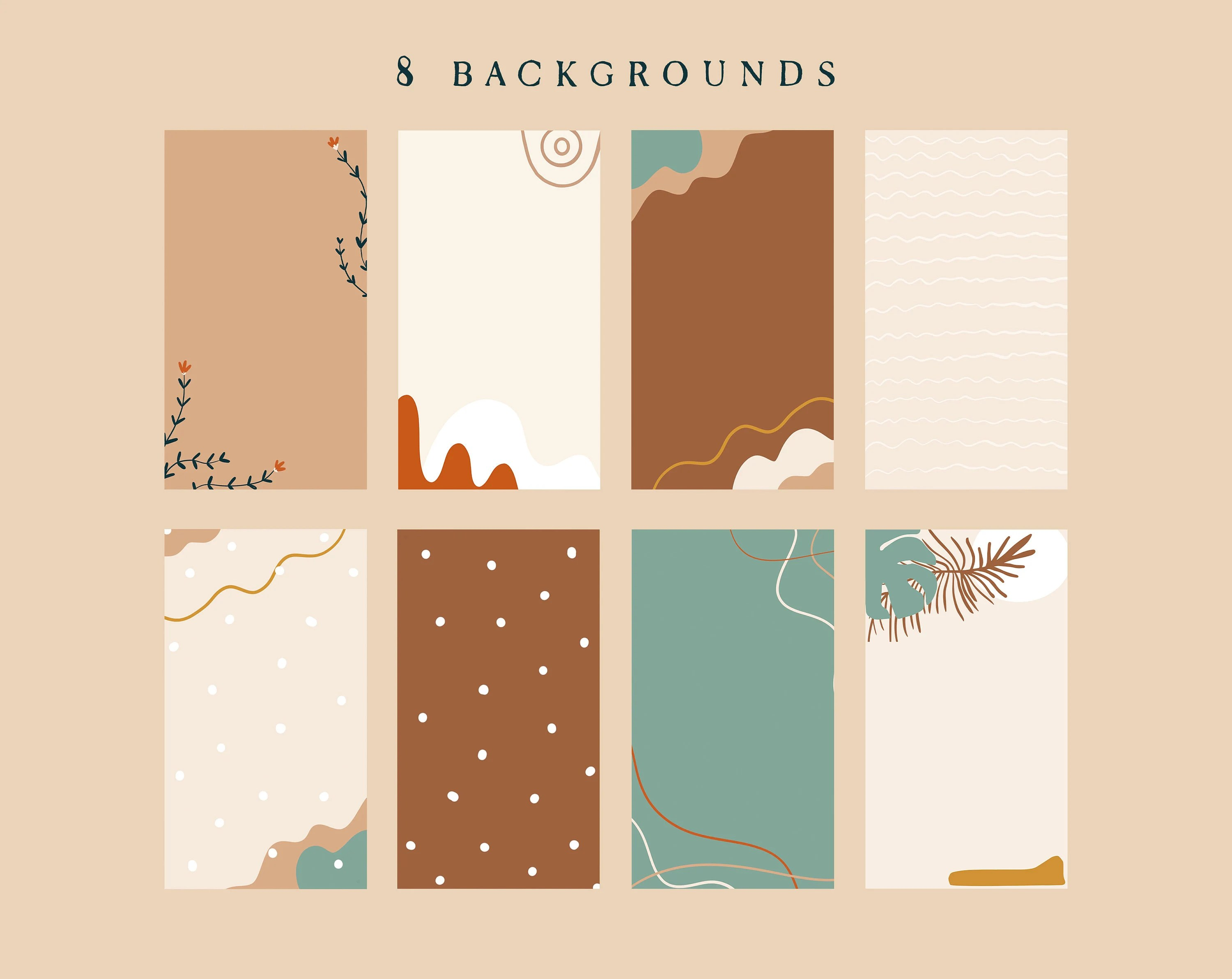 To download these iphone app icons: Boho Neutral App Icons IOS 14 App Icons Aesthetic Beige ...