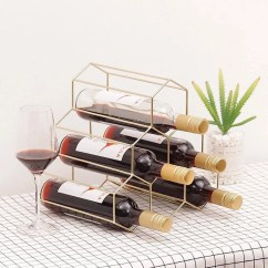 Can You Put A Wine Rack In Living Room Sofas Settees Furniture Etsy Creative Geometric Metal Simple Household Grape Restaurant Bar Cabinet Display