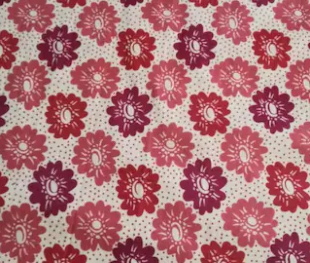 Fabric Retro Vintage Floral Cotton Fabric For Sale Bty By The Yard