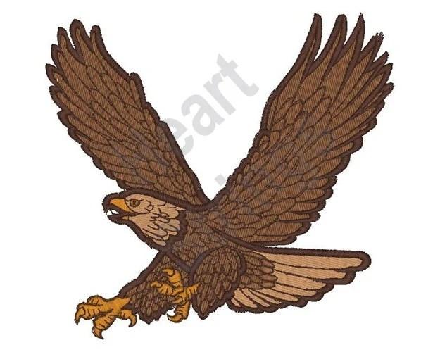 flying hawk etsy