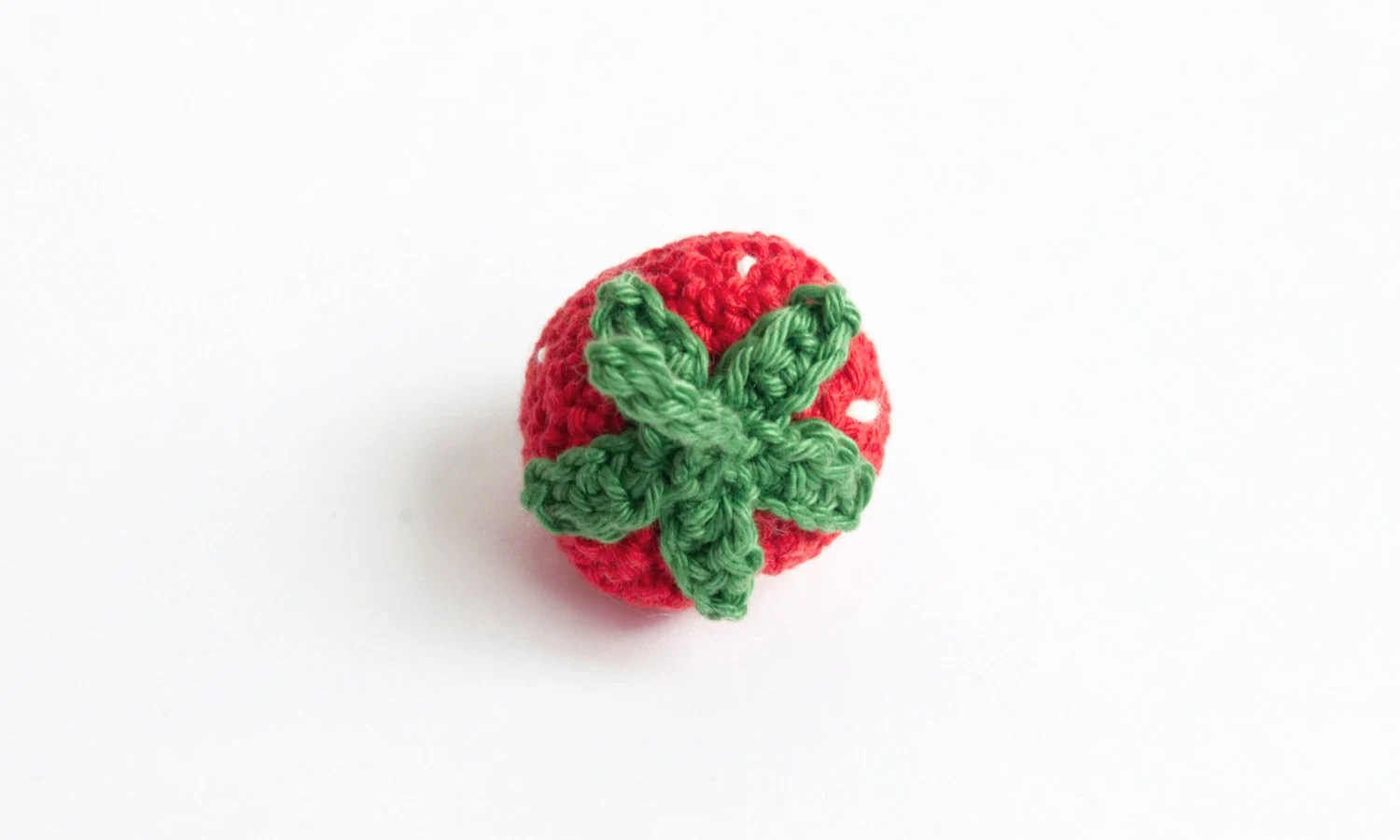 Strawberry crochet image 1