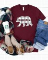 Bella Canvas 3001 Heather Cardinal Red Unisex Jersey T Shirt Etsy