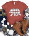 Bella Canvas 3001 Heather Clay Unisex Jersey T Shirt Mockup Etsy