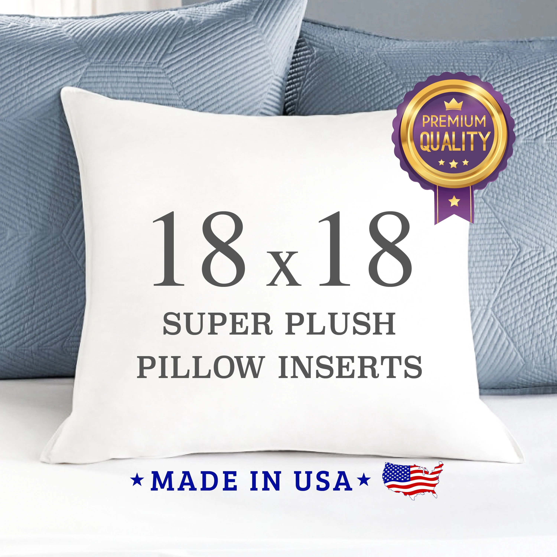 pillow insert 18x18 etsy