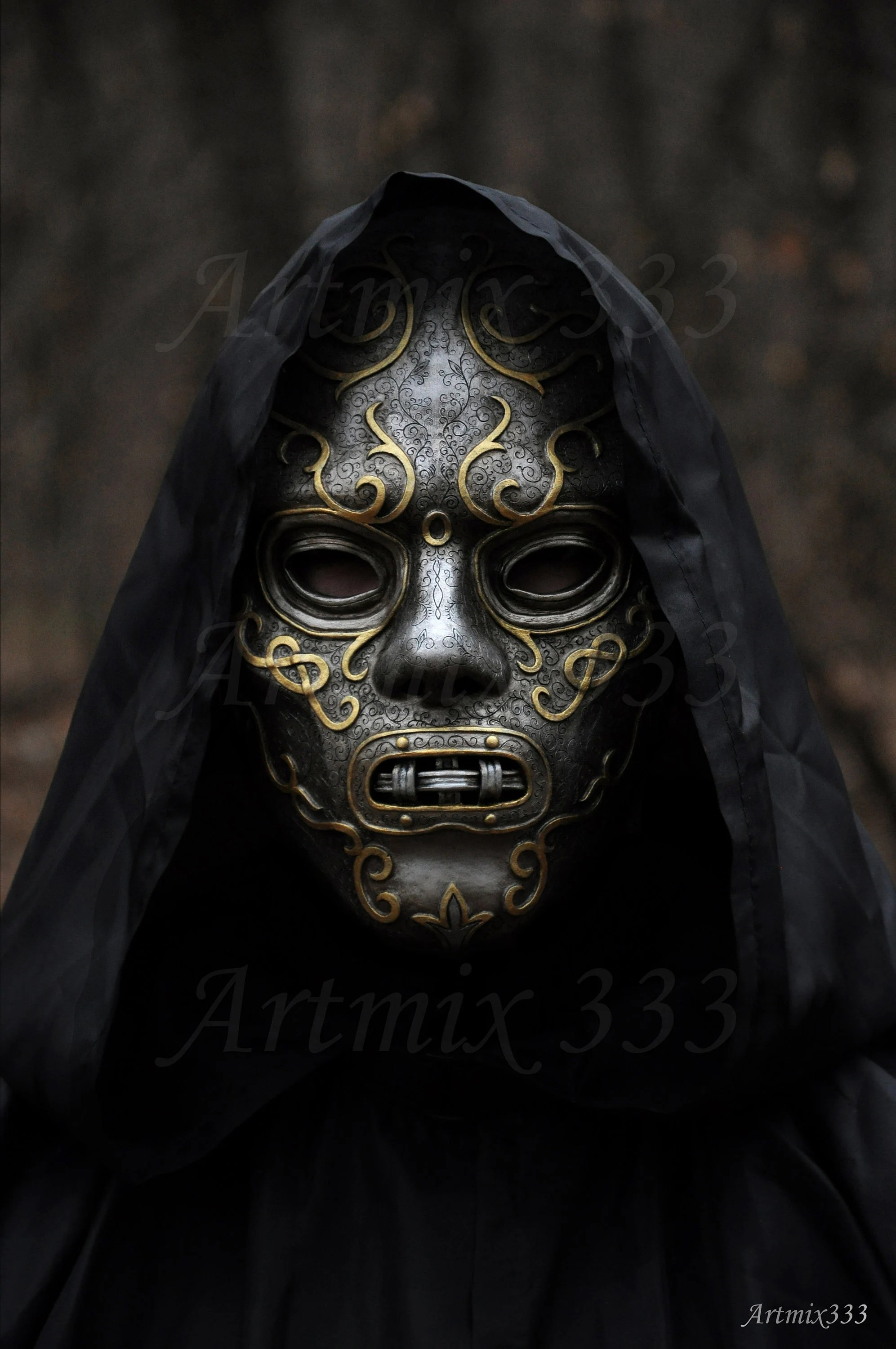 Death Eater Masks And Their Owners : death, eater, masks, their, owners, Unique, Death, Eaters, Handmade, Harry, Potter