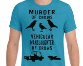 Murder of Crows Shirt Fun...