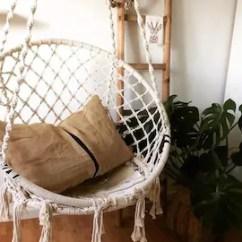 Indoor Hammock Chair 24 Inch Chairs Etsy Macrame Hanging Outdoor Nordic Style Handmade Cotton Rope Bedroom