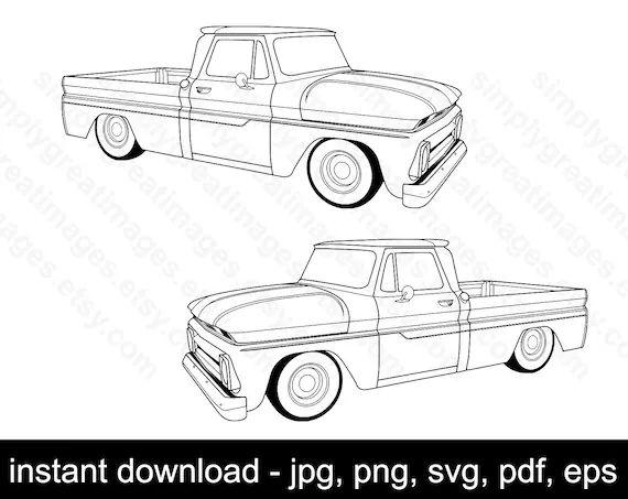 1962 chevy pickup truck