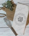 Mock Up Kitchen Tea Towel Farmhouse Flour Sack Towel Etsy