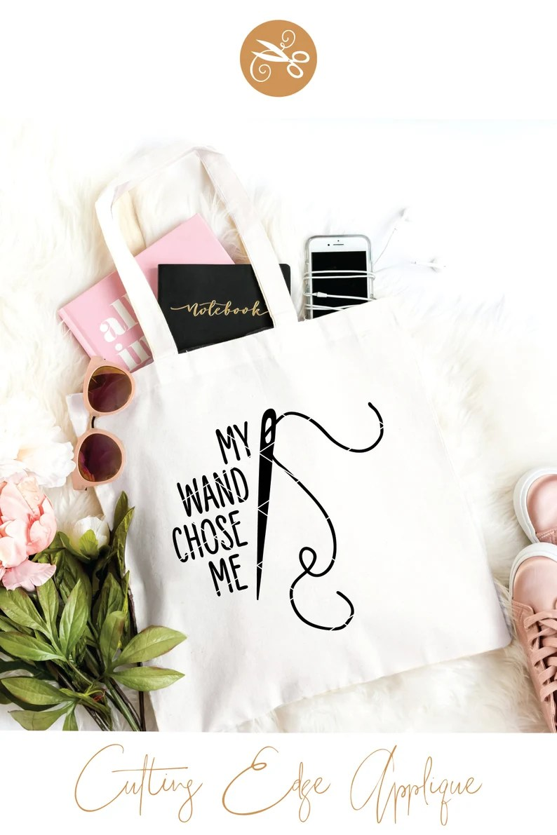 Download My Wand Chose Me SVG & Clip Art quilting svg love to sew ...