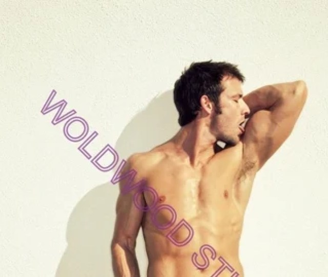 Sexy Hot Model Actor Muscular Buff Brunette Kevin Crows Photo