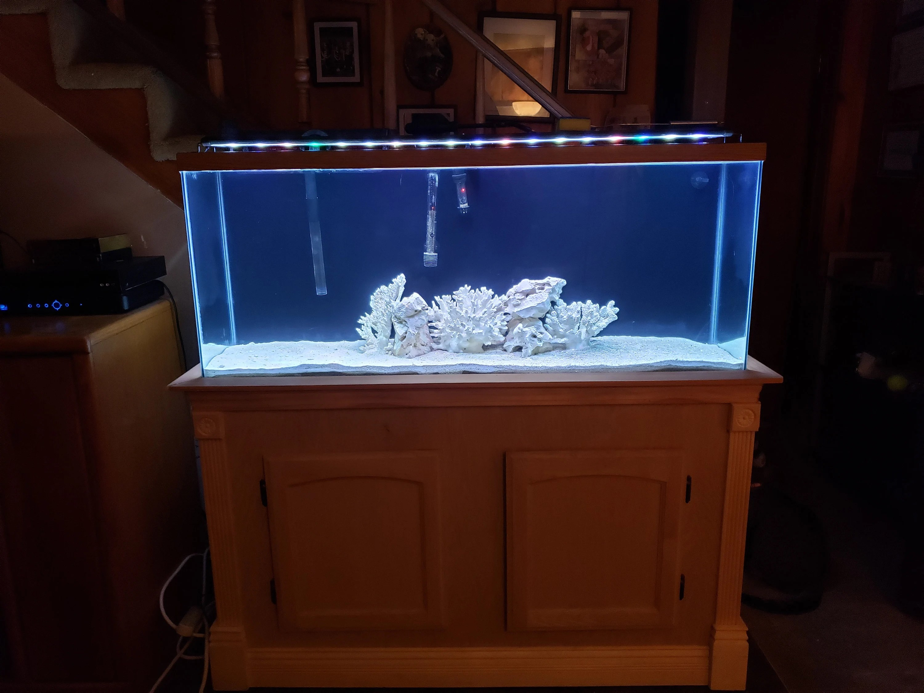 Wooden Aquarium Stand India