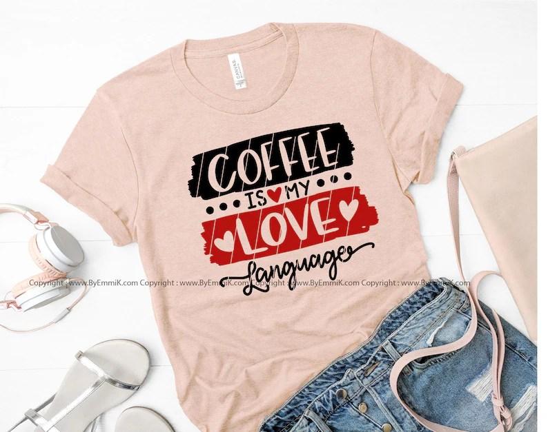 Download Valentine coffee svg love language svg coffee lover svg   Etsy