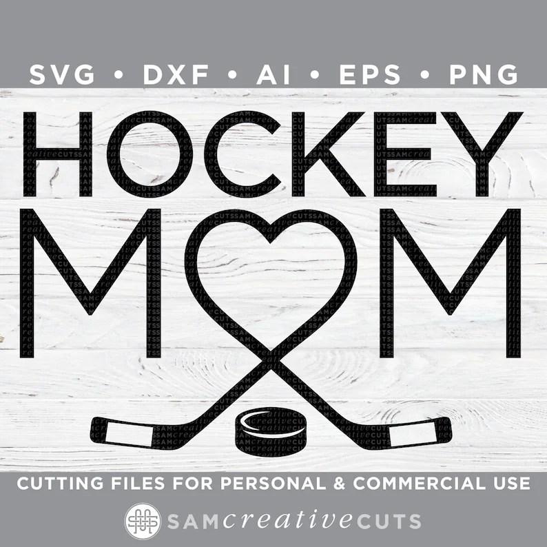 Download Hockey Mom SVG Heart Hockey Love Hockey Hockey SVG | Etsy
