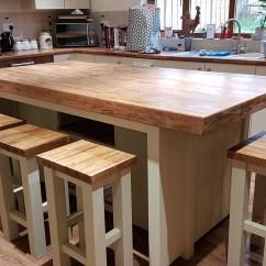 Kitchen Workbench Aid Silver Island Etsy Bespoke Farmhouse Unit
