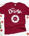Cardinal Red Valentines Day T Shirt Gildan 64000 Mockup Unisex Etsy