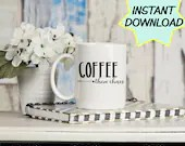 Coffee then chaos SVG, cut file, PNG, JPEG, Teacher shirts, Gifts for teachers, cricut, silhouette, Instant download, coffee lover