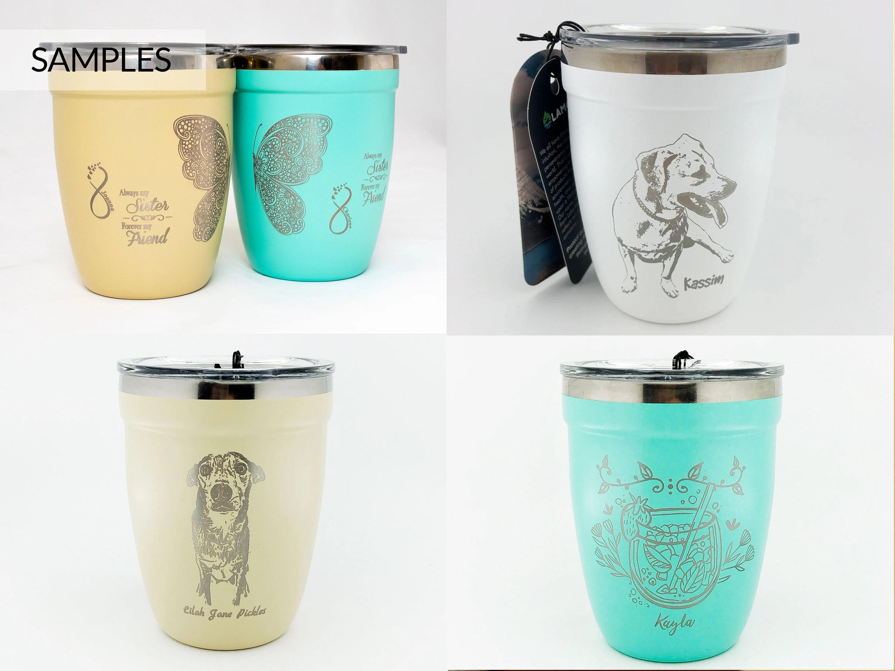 Father's Day Gift Custom Laser-engraved Coffee Tumbler image 4