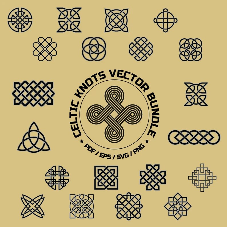 Download Celtic Knot Celtic Knot SVG Irish Knot Dara Knot Love | Etsy