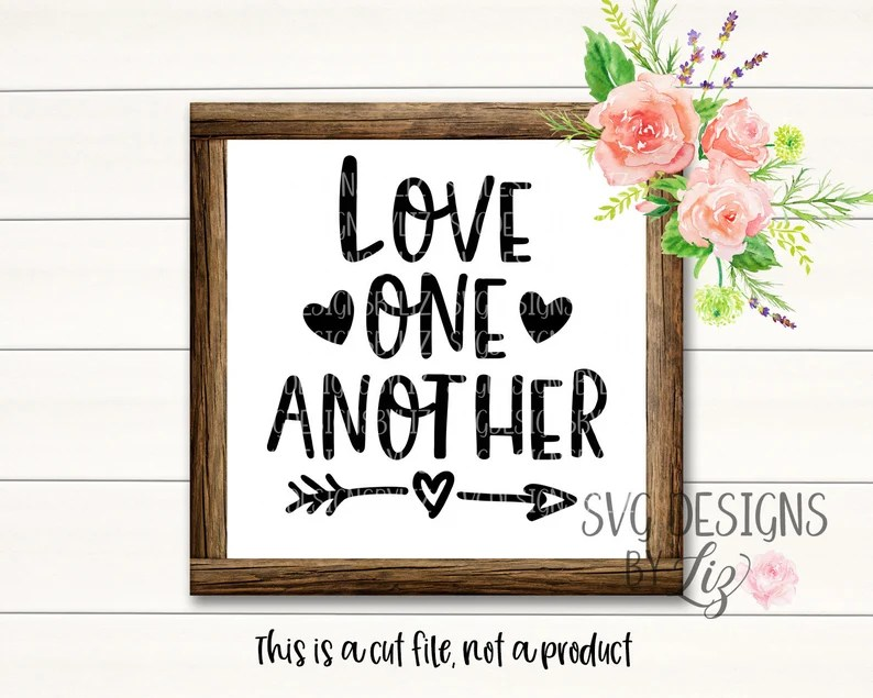 Download Love one Another Lds Svg Lds Svg Cut Vector Files for ...