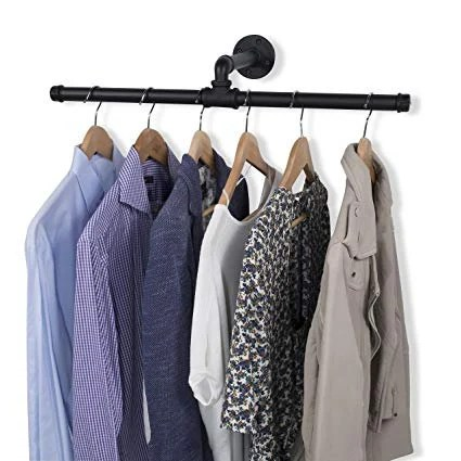 closet rod garment rack pipe rack