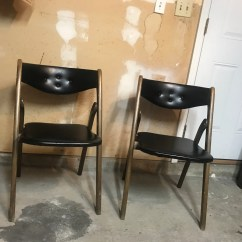 Coronet Folding Chairs Grey Leather Desk Chair Etsy Set Of Vintage Norquist Furniture Not Willing To Ship
