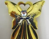 "Vintage ""Not So Plain Jane"" Angel Brooch"