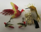 Vintage Brooches and Earrings