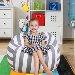 Bean Bag Storage Chair Portable High Seat Stuffed Animal Etsy For Organizing Kid S Room