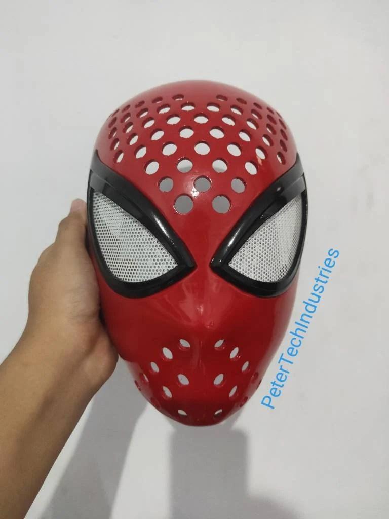 Spiderman Face Shell : spiderman, shell, Spiderman, Faceshell, Lenses, Marvel, Insomniac