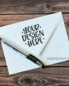 Notebook Sketchpad Or Notepad Mockup Styled Stock Etsy