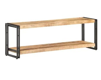 industrial tv stand etsy