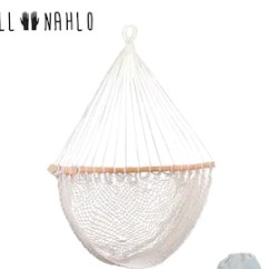 Swing Chair With Stand Kuwait Clearance Patio Cushions Hammock Etsy All Nahlo Hanging Rope Cotton Seat Comfortable Durable Large Porch Yard Indoor Garden Lightweight Tree
