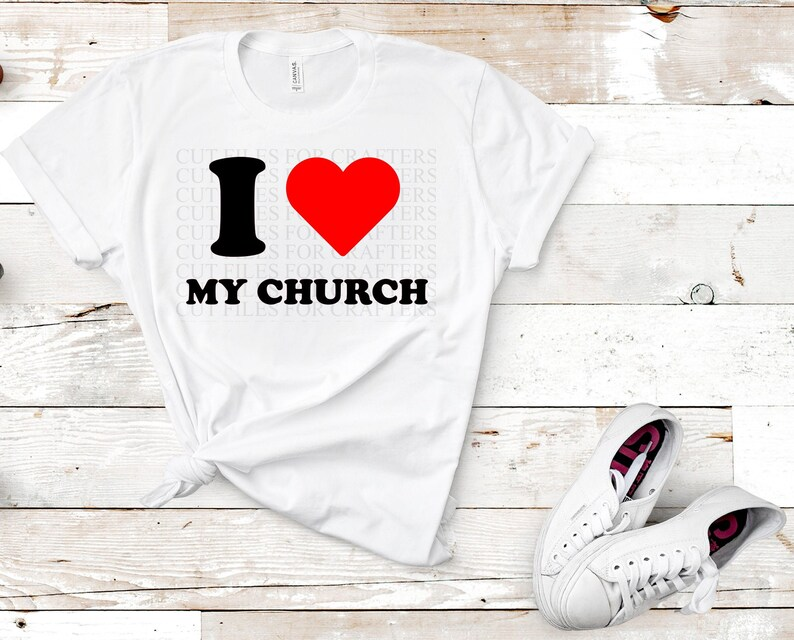 Download I Love My Church Svg Sisters In Christ Are Sisters For ...