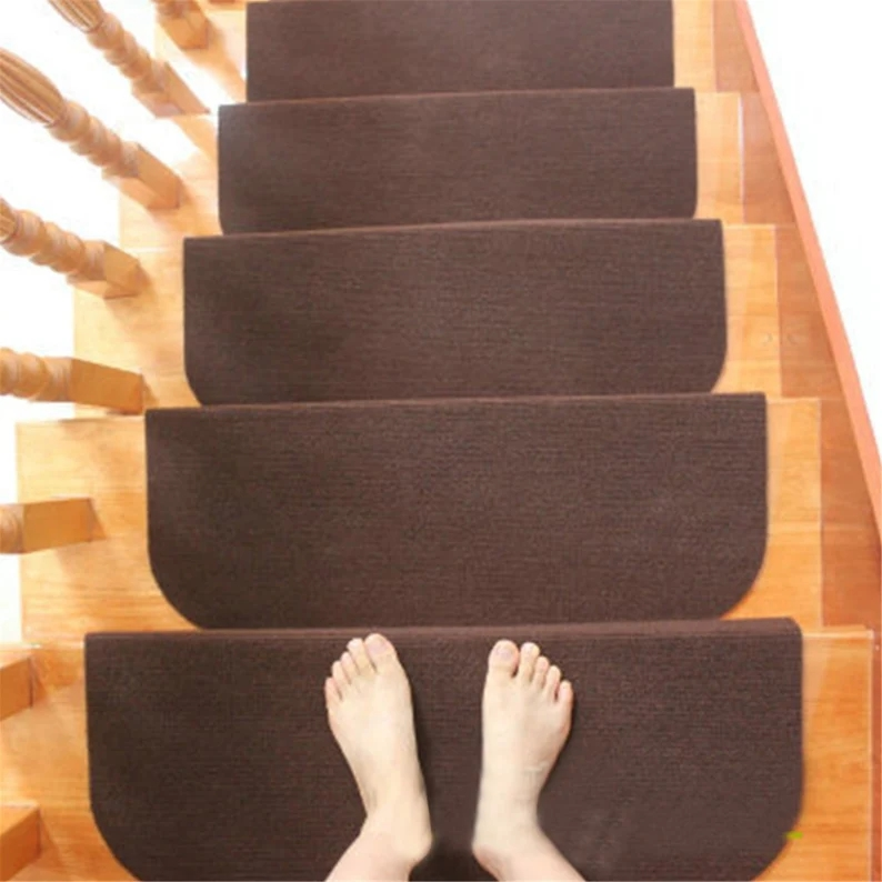 Staircase Cover Reusable Rug Non Slip Carpet Durable Home Etsy | Decorative Non Slip Stair Treads | Stair Railing | Washable | Rugs | Dirt Proof | Rubber Backing