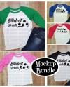 Mockup Bundle Next Level 3352 T Shirt Mockup Unisex Youth Etsy