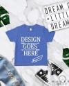 True Royal Blue Toddler Shirts Mock Up Toddler Tee Mock Ups Etsy