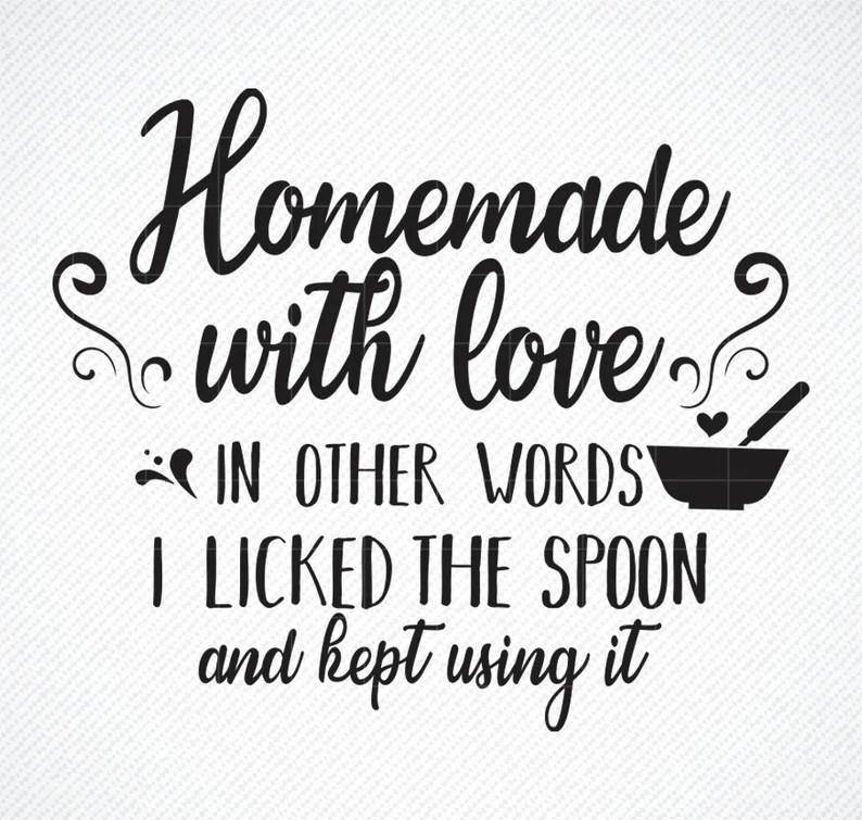 Download Homemade with Love Kitchen Towel Svg Pot Holder Svg Apron ...