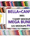 Png Bellacanvas 3001 Airlume Jersey And Heather Cvc Mega Etsy