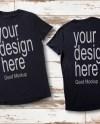 Men S Blank Black T Shirt Apparel Mockup Bella Canvas Etsy