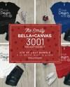 Bella Canvas 3001 Shirt Mockup Bundle Emily 4 Etsy