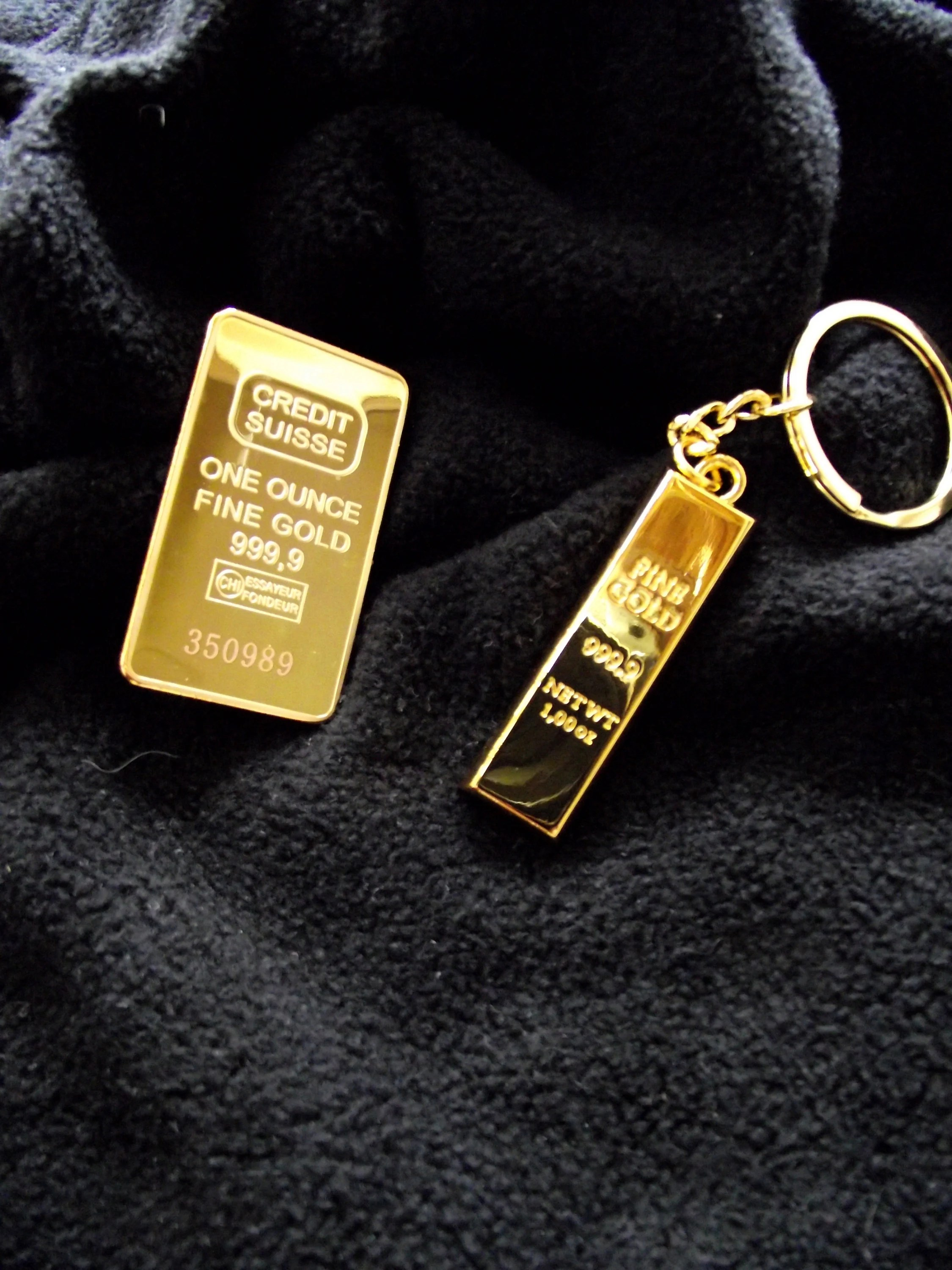 1 Ounce Gold Bar Size : ounce, Consecutive, Serial, NumberedNovelty, BullionCREDIT