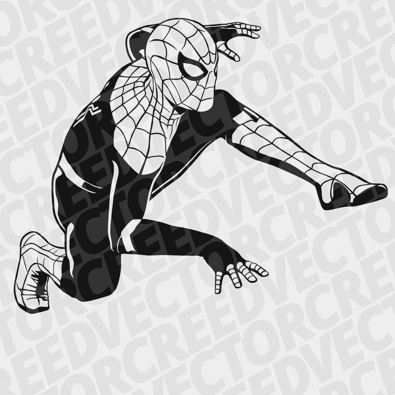 Spiderman SVG Cutting Files Spiderman Cricut SVG Cuttable