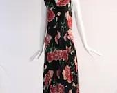 Vintage Floral 1940s Dress