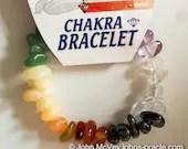 Gemstone Chakra Bracelet