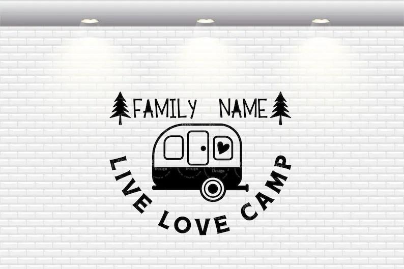 Download Live Love Camp Svg Camping Name Svg Camping Monogram Svg ...