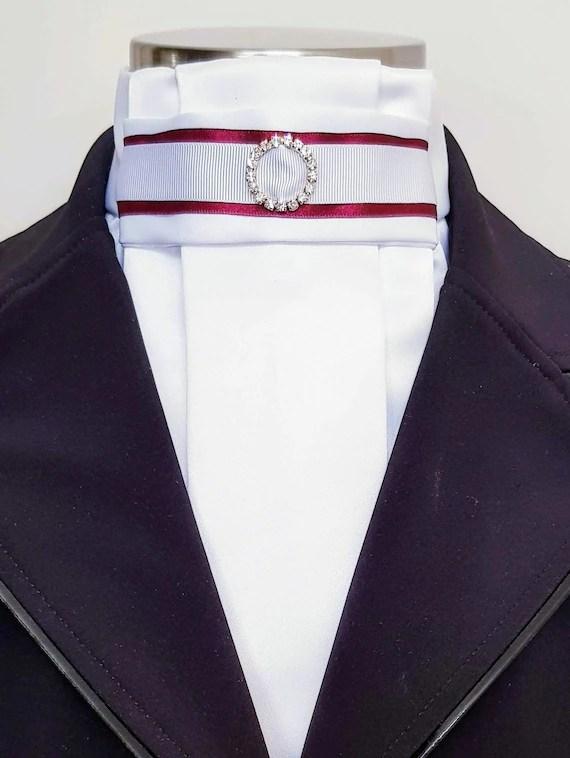 Dressage Stock Tie : dressage, stock, Riviera, Dressage, Pre-Tied, Stock, Various, Colours