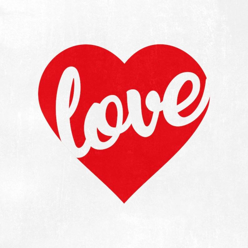 Download Love Heart Svg Valentines day svg png dxf Valentine svg   Etsy