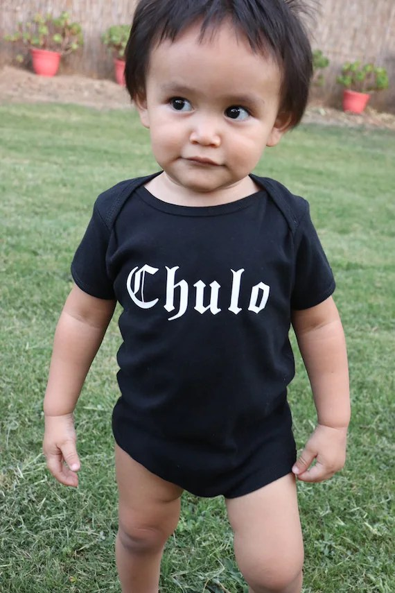 Baby Shower T Shirt Sayings : shower, shirt, sayings, Chulo, Bodysuit, Toddler, Black/white, Sibling